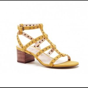 Sole Society Phoenix Gladiator Sandals (Sunflower)
